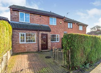 Thumbnail 4 bed end terrace house for sale in Forresters Close, Norton, Doncaster, South Yorkshire