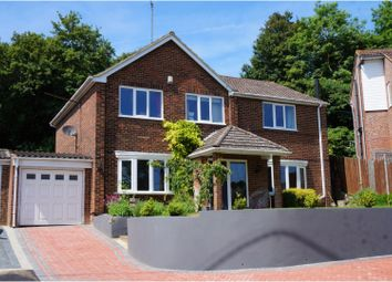 Thumbnail 5 bed detached house for sale in Pilgrims Way, Rochester