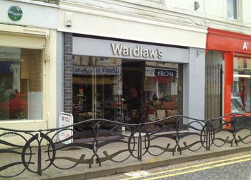 Thumbnail Retail premises for sale in 91 Argyll Street, Dunoon