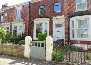 Thumbnail 3 bed terraced house for sale in Riverside Road, Penwortham, Preston