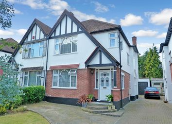 Thumbnail 3 bed semi-detached house for sale in Abbotts Drive, Wembley, Middlesex