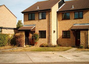 Thumbnail 2 bed terraced house to rent in Fairhaven Close, Lode, Cambridge