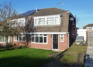 Thumbnail 3 bed semi-detached house to rent in Ferrers Close, Castle Donington, Derby