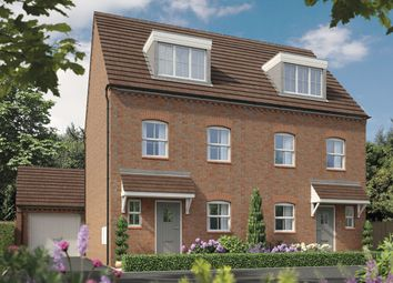 Thumbnail 3 bedroom town house for sale in Fellow Lands Way, Chellaston, Derby