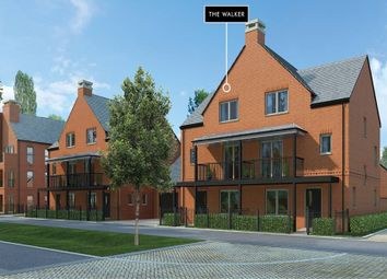"Thumbnail 4 bed semi-detached house for sale in ""The Walker"" at Andover Road North, Winchester"