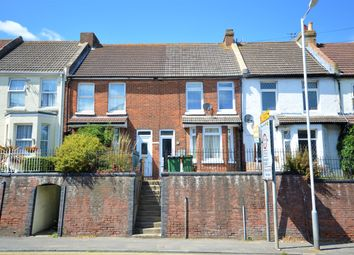 Thumbnail 2 bed terraced house for sale in Cheriton High Street, Cheriton, Folkestone
