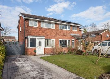 Thumbnail 3 bedroom semi-detached house for sale in Mayfair Close, Great Sankey, Warrington
