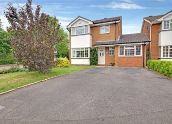 Thumbnail 4 bed detached house for sale in Delamere Drive, Swindon, Wiltshire