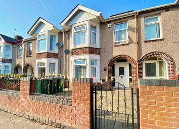Thumbnail 3 bed terraced house for sale in Siddeley Avenue, Stoke Green, Coventry