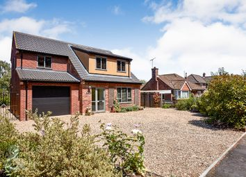 Thumbnail 4 bed detached house for sale in Hilly Plantation, Thorpe St. Andrew, Norwich