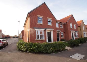 Thumbnail 3 bedroom end terrace house for sale in Gilbert Road, Saxmundham