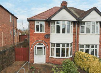 Thumbnail 3 bedroom semi-detached house for sale in Ernest Road, Carlton, Nottingham