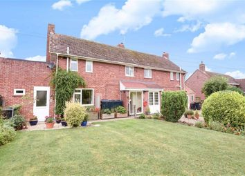 Thumbnail 3 bed semi-detached house for sale in Church Road, Hinton Parva, Wiltshire