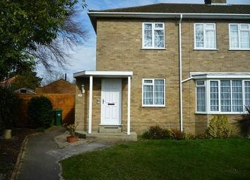 Thumbnail 2 bed maisonette to rent in Bramdean Road, West End, Southampton
