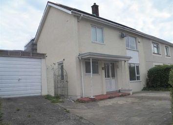 Thumbnail 3 bed semi-detached house for sale in Eiddwen Road, Penlan, Swansea