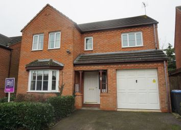 Thumbnail 4 bed detached house for sale in Roman Close, Leicester