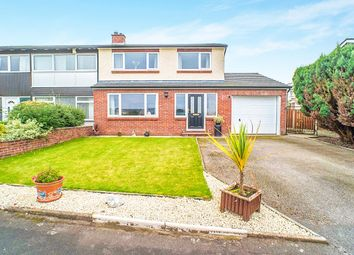 Thumbnail 3 bed semi-detached house for sale in Mount Pleasant Gardens, Wigton