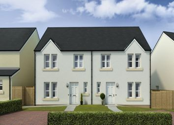 Thumbnail 3 bed semi-detached house for sale in Mains Farm, North Berwick, East Lothian