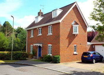 Thumbnail 5 bedroom detached house for sale in Turgis Road, Fleet