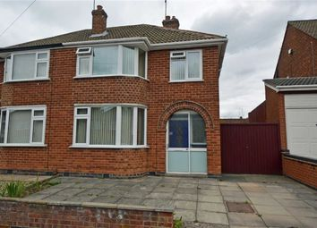 Thumbnail 3 bed semi-detached house for sale in Brockenhurst Drive, Braunstone, Leicester