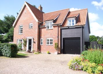 Thumbnail 4 bed detached house for sale in Smyth Close, Peasenhall, Saxmundham