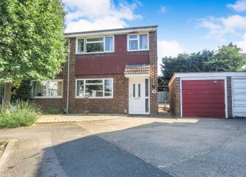 Thumbnail 3 bed semi-detached house for sale in Sycamore Close, Biggleswade