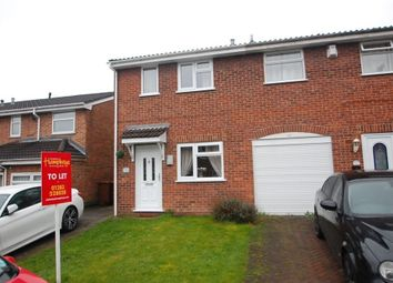 Thumbnail 2 bed property to rent in Duchy Close, Stretton, Burton Upon Trent, Staffordshire