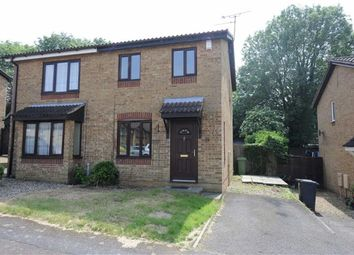 Thumbnail 2 bed semi-detached house to rent in Linnet Close, Wellingborough