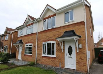 Thumbnail 3 bed semi-detached house to rent in Heywood Gardens, Whiston, Prescot