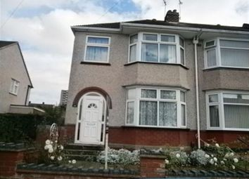 Thumbnail 3 bedroom semi-detached house to rent in St Ives Road, Wyken, Coventry