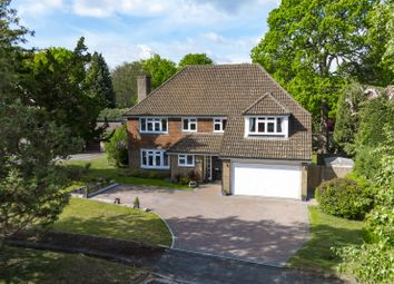 Thumbnail 4 bed detached house for sale in Brackenhill, Cobham