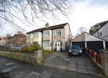 Thumbnail 4 bed semi-detached house for sale in Bebington Road, Tranmere, Birkenhead