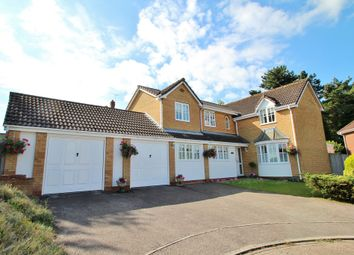Thumbnail 4 bedroom detached house for sale in Woolpit, Bury St Edmunds, Suffolk