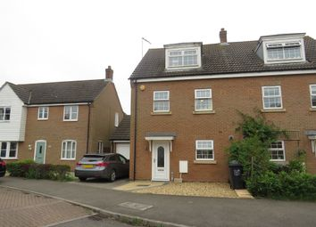 Thumbnail 4 bedroom semi-detached house for sale in Fendley Close, Watlington, King's Lynn