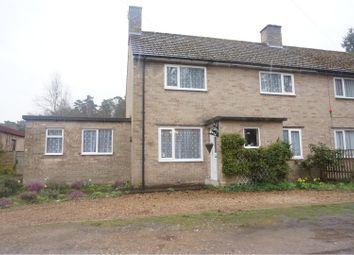 Thumbnail 4 bed semi-detached house for sale in Santon Downham, Brandon