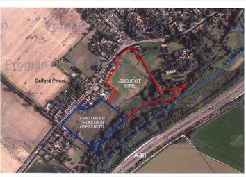 Thumbnail Commercial property for sale in Land At Salford Priors, Warwickshire WR118Uu