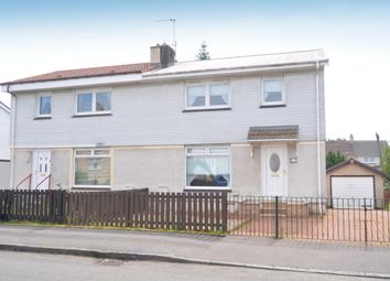 Thumbnail 3 bed semi-detached house for sale in Knowe Crescent, Newarthill, Motherwell