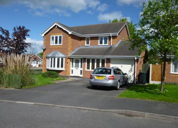 Thumbnail 4 bedroom detached house to rent in Peacroft Court, Hilton Village, Derbys.