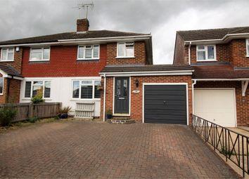 Thumbnail 3 bed semi-detached house for sale in Fairford Road, Tilehurst, Reading, Berkshire