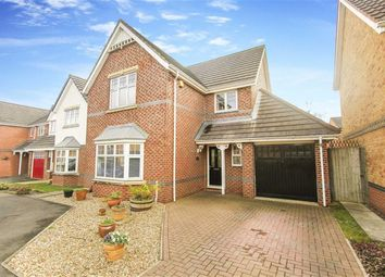 Thumbnail 4 bed detached house for sale in Carlisle Close, Holystone, Northumberland