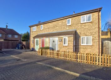 Thumbnail 2 bed semi-detached house for sale in Coles Lane, Oakington, Cambridge