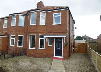 Thumbnail 3 bed semi-detached house for sale in Albion Avenue, Acomb, York