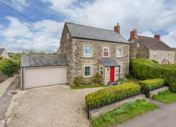Thumbnail 4 bed detached house for sale in The Street, Crudwell, Malmesbury