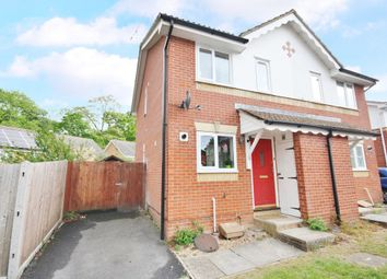 Thumbnail 2 bed semi-detached house for sale in Barrie Close, Whiteley, Fareham