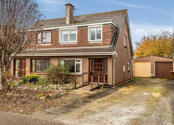 Thumbnail 3 bed semi-detached house for sale in Drumossie Avenue, Inverness