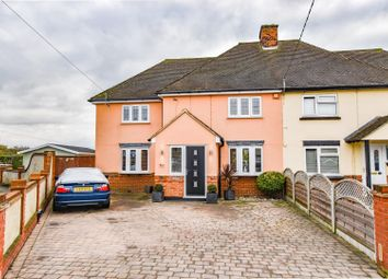 Thumbnail 4 bed semi-detached house for sale in Oxney Villas, Felsted, Dunmow