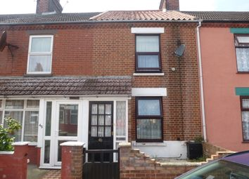 Thumbnail 3 bedroom terraced house for sale in Arundel Road, Great Yarmouth