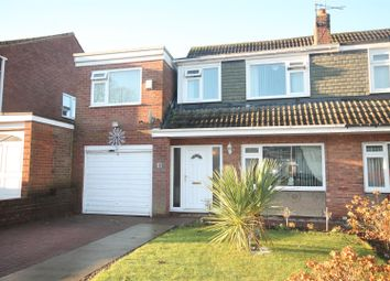 Thumbnail 4 bed semi-detached house for sale in Kenilworth Avenue, Bishop Auckland