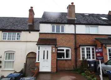 Thumbnail 2 bed terraced house to rent in Four Oaks Common Road, Four Oaks, Sutton Coldfield