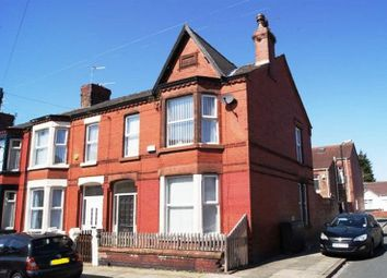 Thumbnail 4 bed terraced house for sale in Portelet Road, Old Swan, Liverpool